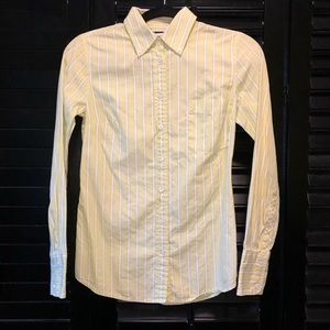 J. Crew Lime Green Slim Fit Button-Down Shirt